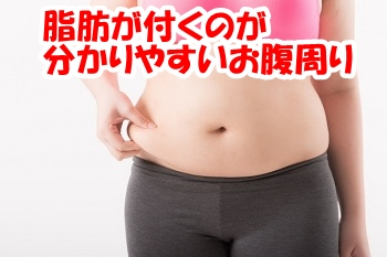 お腹周りの脂肪