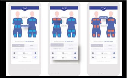 WISENFITの専用アプリの説明