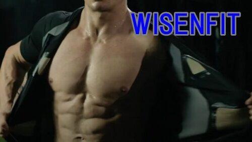 WISENFITは前方のファスナーを閉めて着る